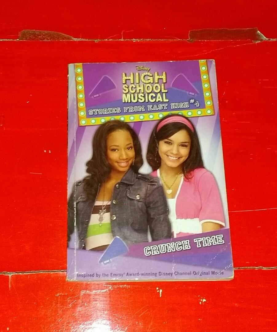 CRUNCH TIME Disney's High School Musical Stories From East High #4 Book