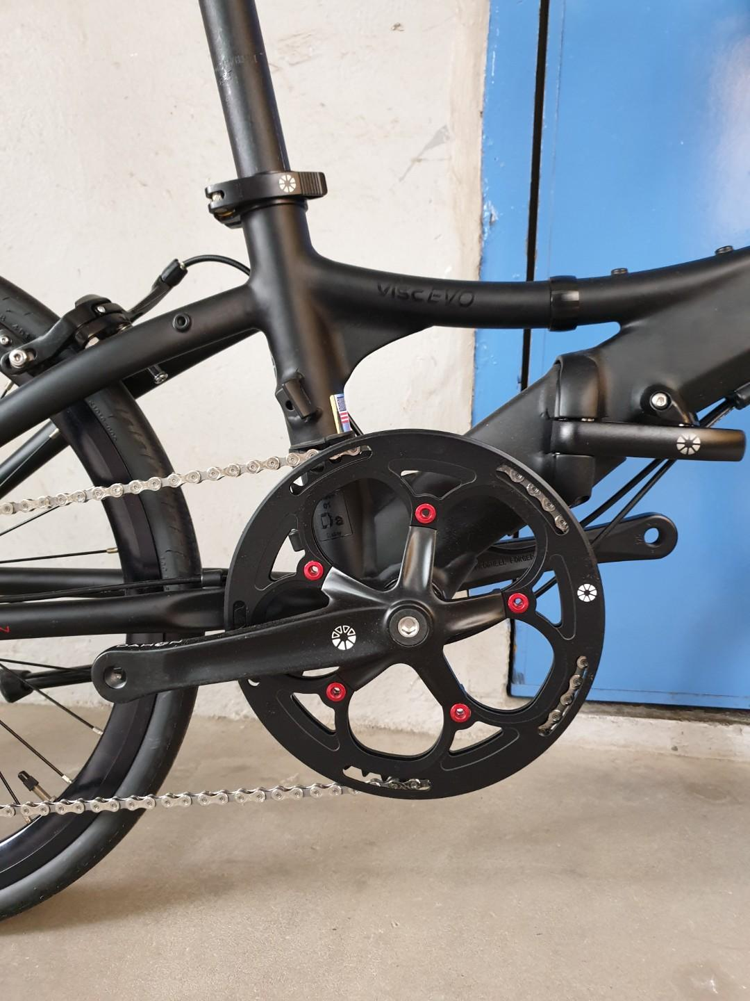 Dahon Visc Evo 10speed 20inch 451 Folding Bicycle