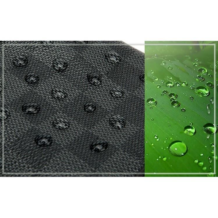 Duffel Leather bag/ Black checked handbag shoulder bag Waterproof Travel Luggage Bag with Monogram Design Large Capacity