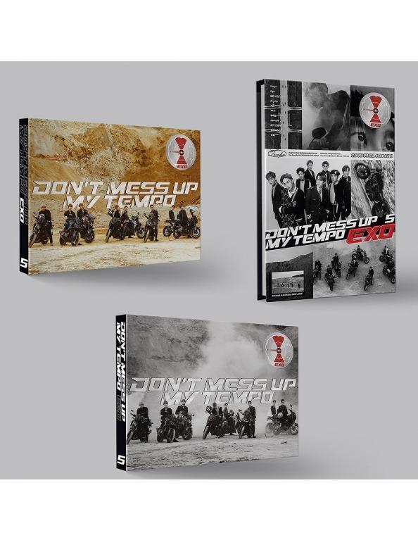 EXO 5th Album 2018 Don't Mess UP My Tempo(Ver. MODERATO)