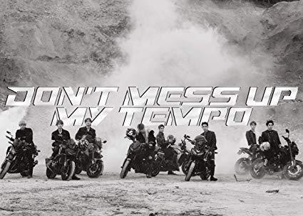 Exo 5th Album Don't Mess Up My Tempo (Ver. ANDANTE)