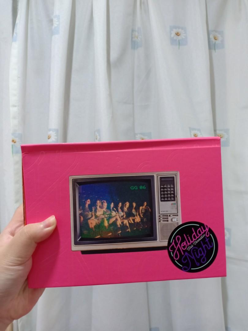 GIRLS' GENERATION ALBUM - HOLIDAY NIGHT (NIGHT VER)