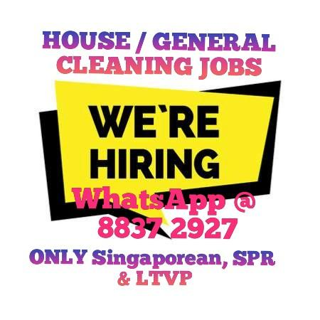 House / General Cleaning Jobs