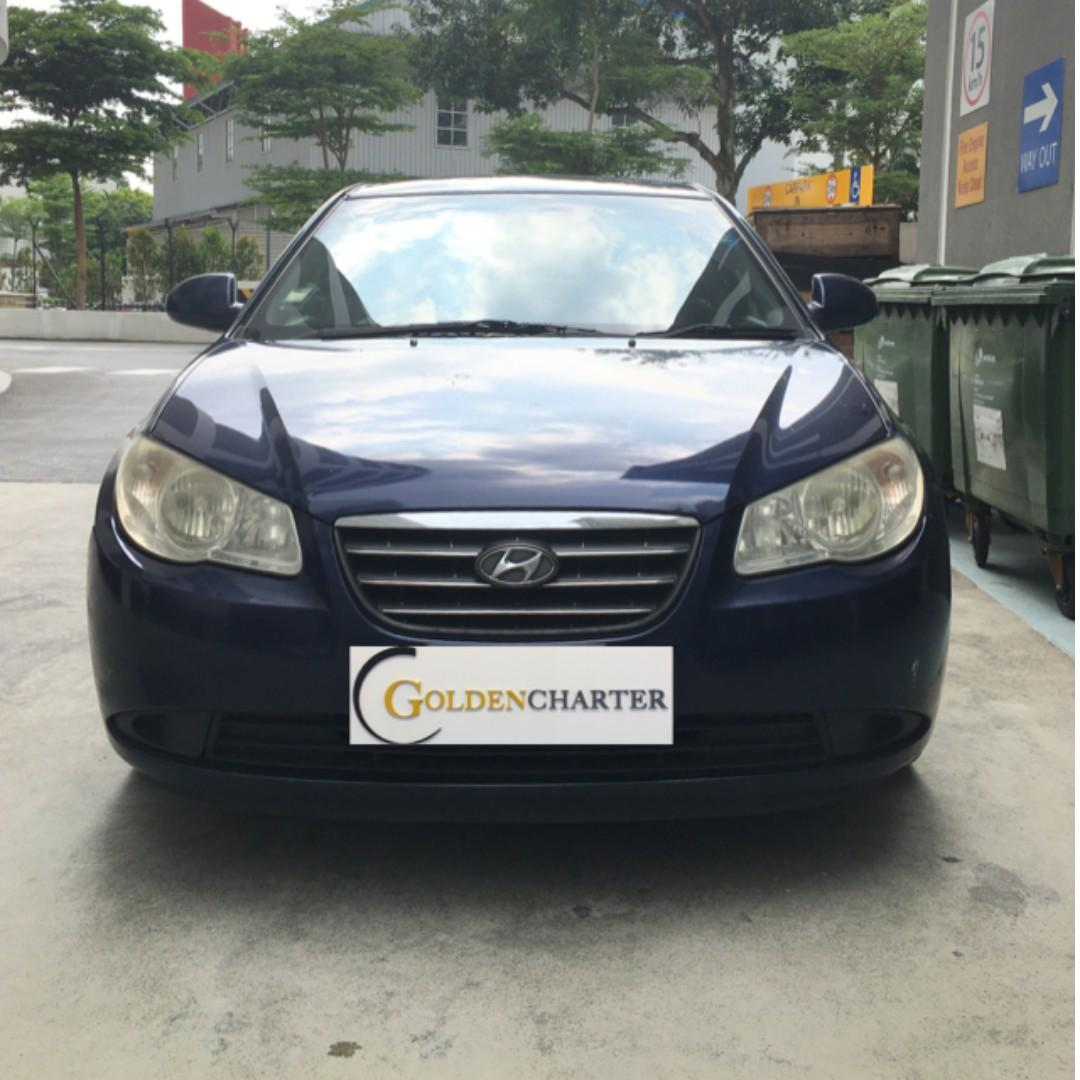 Hyundai Avante For Grab , Gojek , Personal Rent ! Rent with use now !