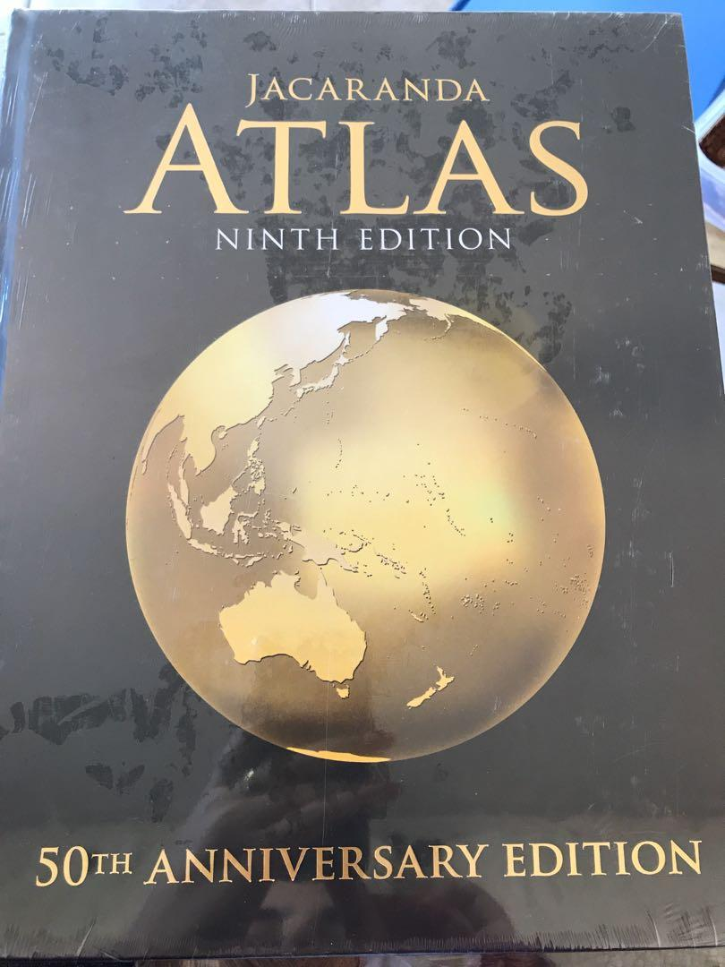 Jacaranda Geoactive 1 - Stage 4 Geography and Atlas ninth edition