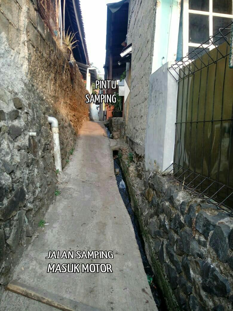 Jual Cepat, Rumah Kampung Siap Huni (2 pintu)