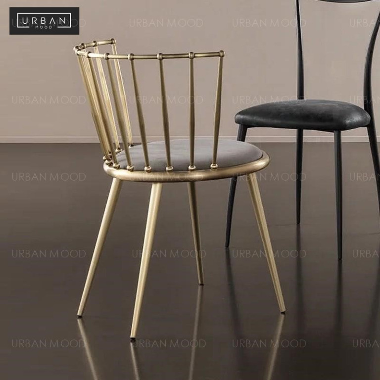 Kosta Wired Gold Frame Dining Chairs Furniture Tables Chairs On Carousell