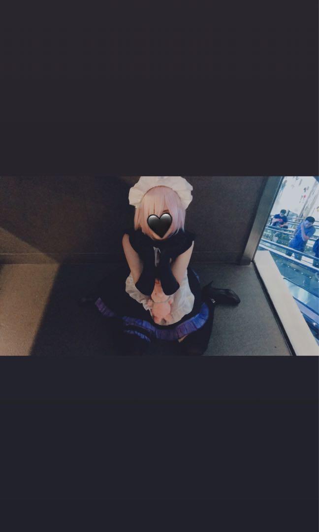 Mashu maid cosplay