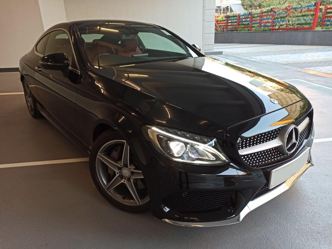 MERCEDES-BENZ C300 COUPE AMG 2016