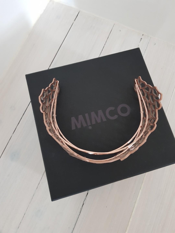 Mimco Rose Gold Petal Parade Crown Headpiece RRP $199