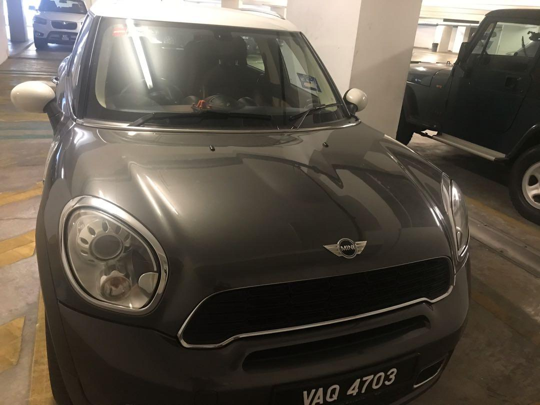 Mini Cooper Countryman in excellent condition