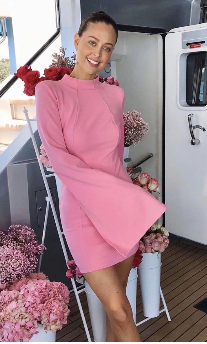 Mossman Sense of mystery dress in pink - size 8 - worn once, perfect condition - rrp $160
