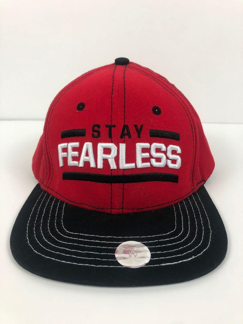 Nikki Bella Stay Fearless Baseball Hat Cap Snap-back Bella Twins