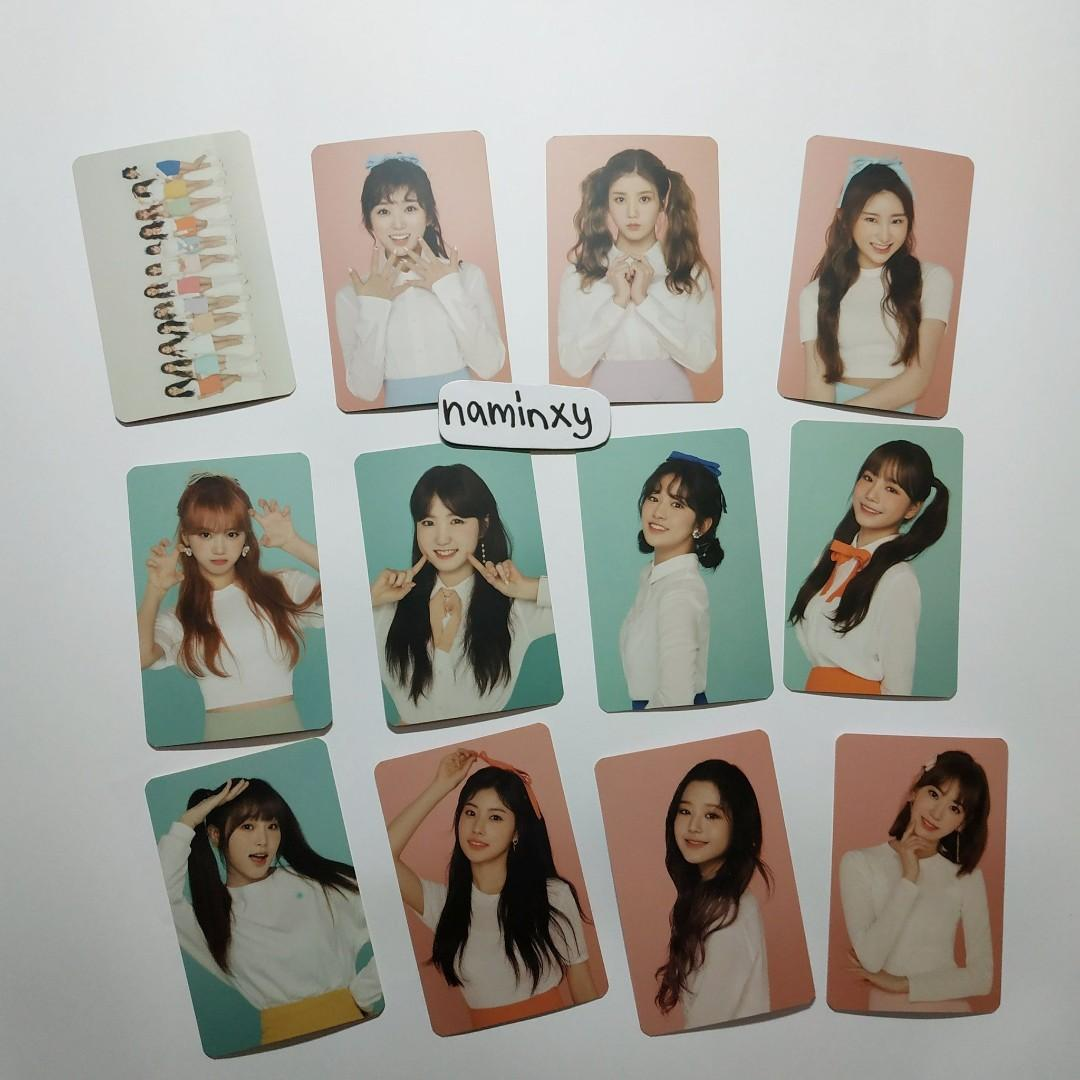 [PRICE REDUCED ] IZ*ONE GLOBAL OFFICIAL FANCLUB 'WIZ*ONE' 1ST FANCLUB KIT Photocards