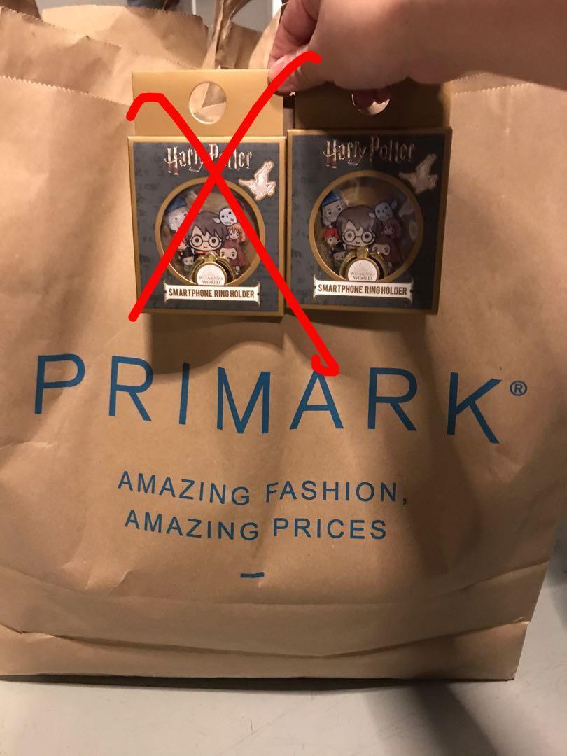 Primark Q 版 Harry potter 手指環