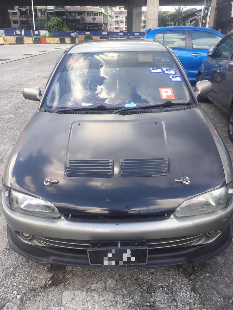 Proton wira aeroback 1.5 (M) VDO 2002(Full interior leather)!!!Last call!!!