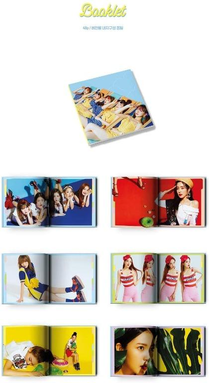 [Ready Stock/Sealed] Red Velvet -Summer Limited Album [Summer Magic] Yeri ver