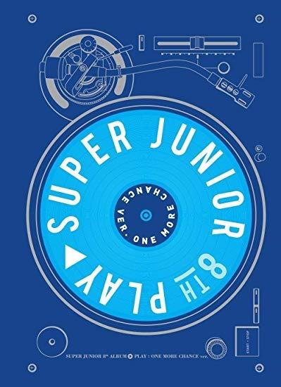 [Ready Stock/Sealed]Super Junior - 8th Album [Play] One More Chance Ver