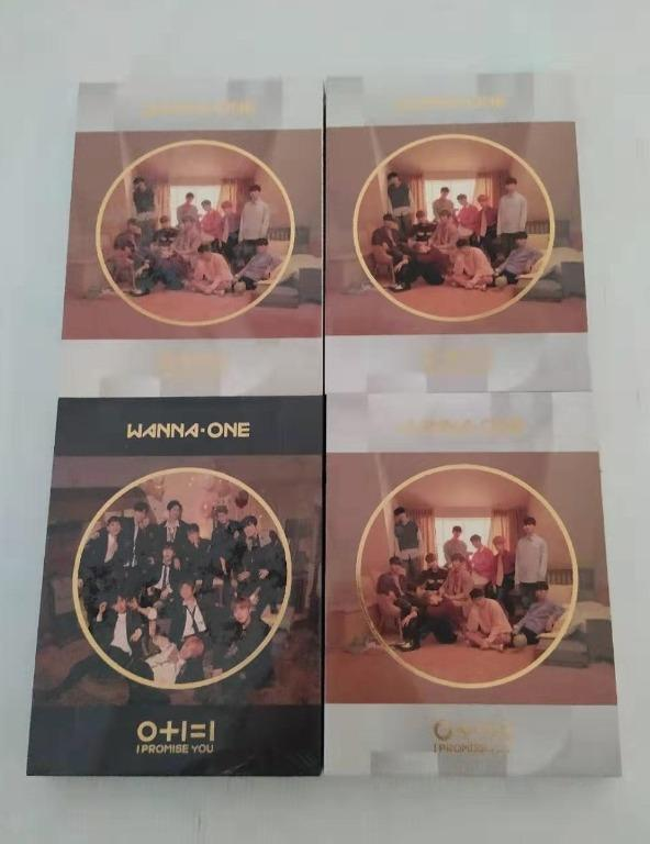 [Ready Stock]WANNA ONE 2ND MINI ALBUM - I PROMISE YOU with poster in tube