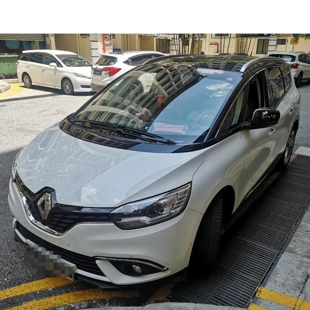 Renault Grand Scenic 7 seater for 6-17Jan 2020 rental