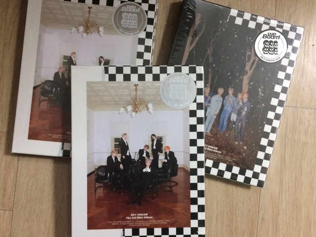 (SEALED & READYSTOCK) NCT DREAM Mini Album We Boom