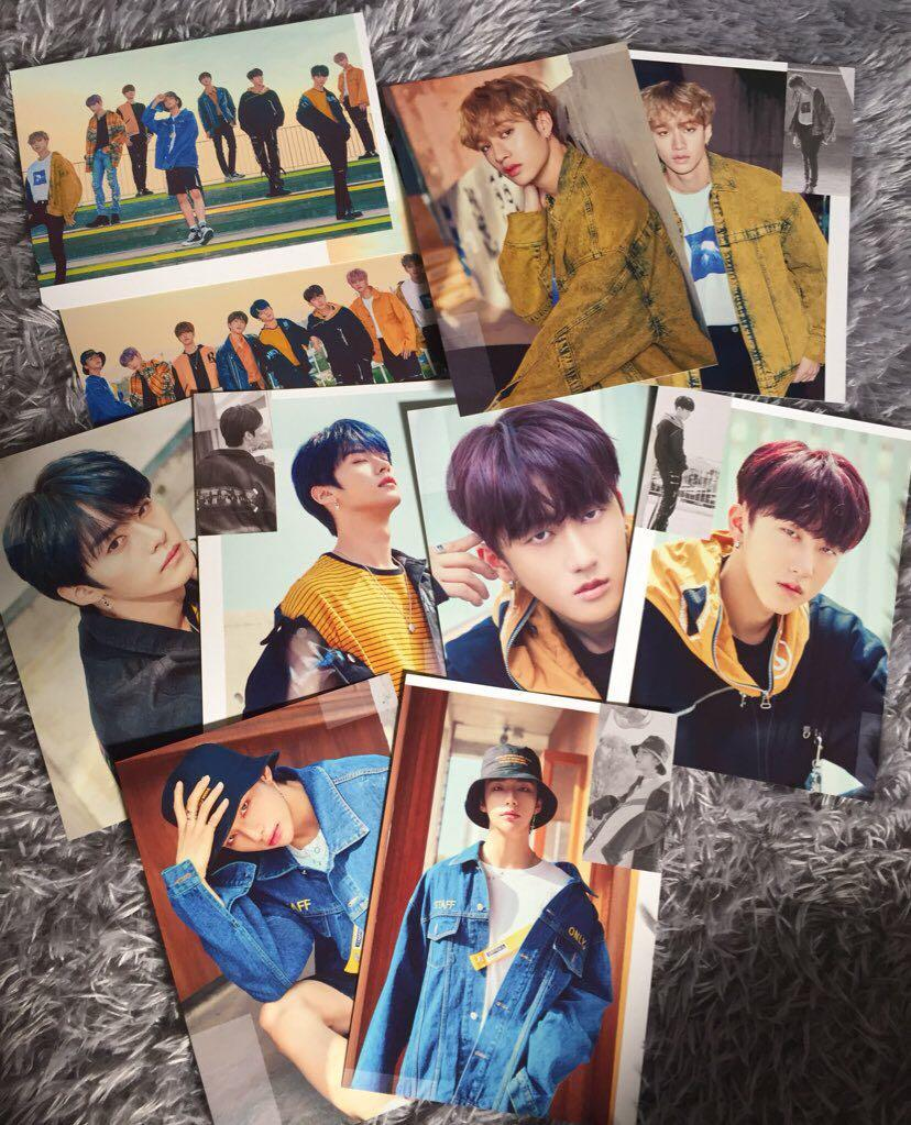 Stray Kids District 9 : Unlock World Tour in Seoul Merch (Postcard Set)