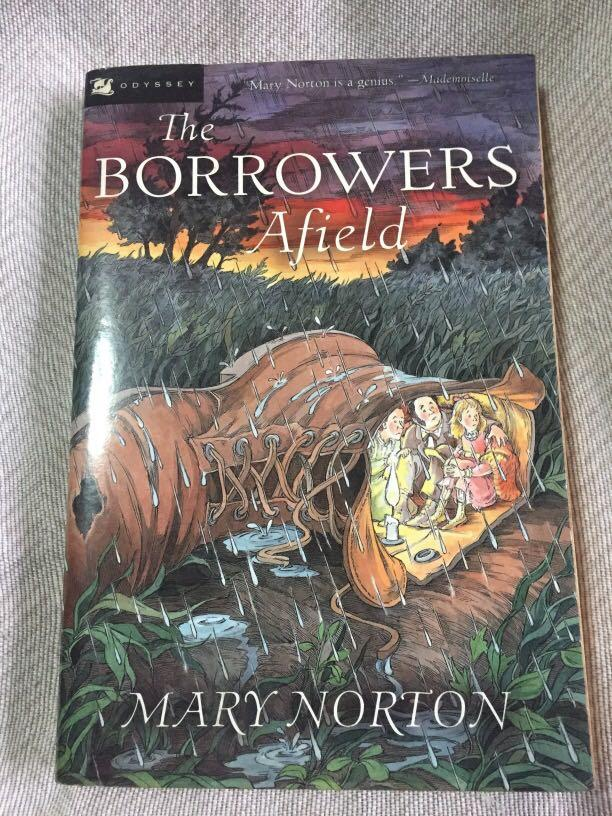 The Borrowers, The Borrowers Afield, The Borrowers Afloat (3 Books) by Mary Norton