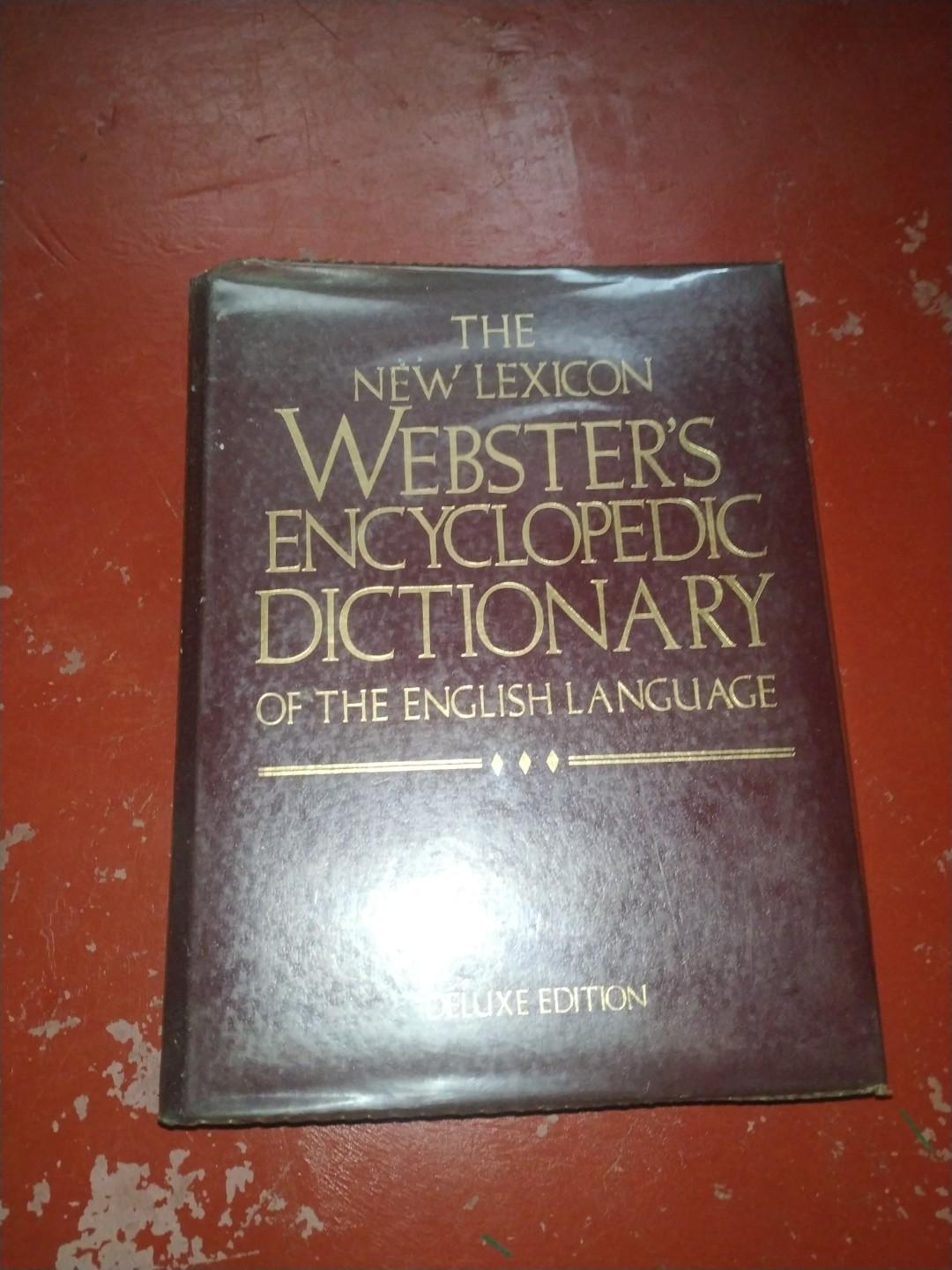 THE NEW LEXICON WEBSTER'S ENCYCLOPEDIC DICTIONARY OF THE ENGLISH LANGUAGE
