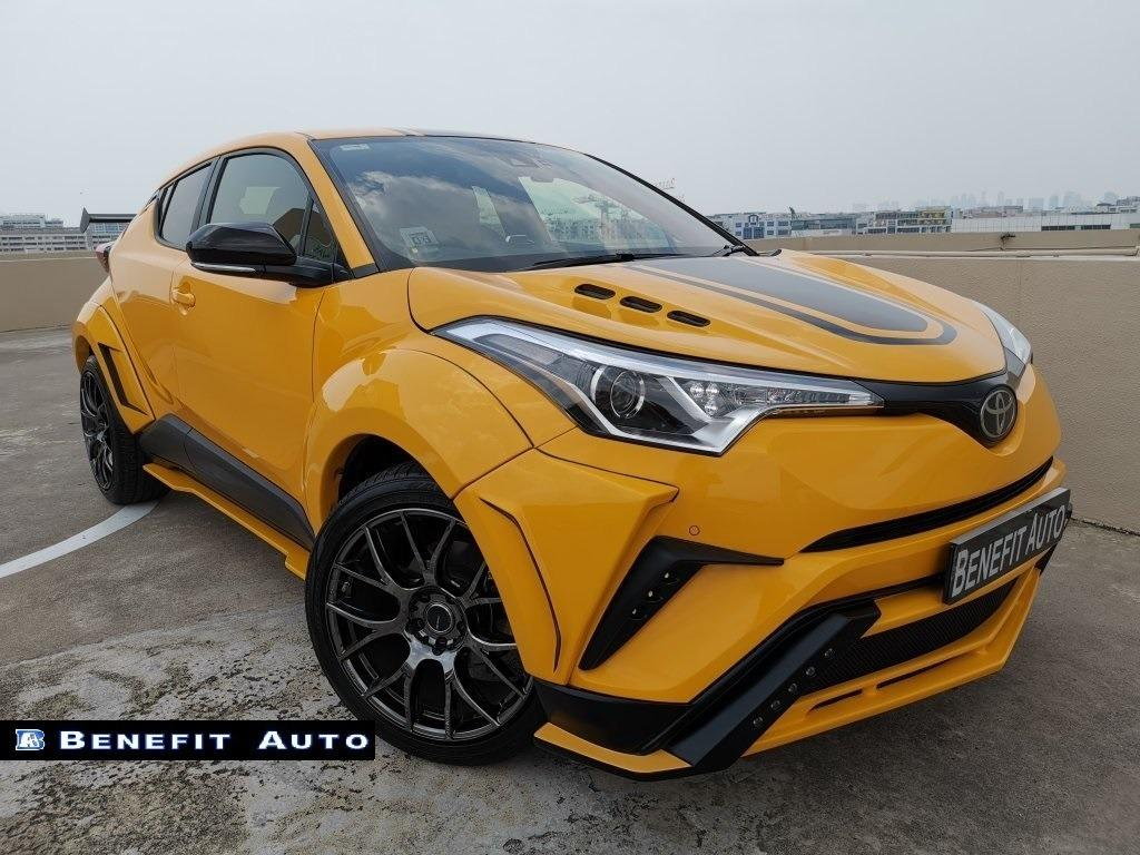 TOYOTA C-HR 1.2 TURBO ACTIVE (AUTO)