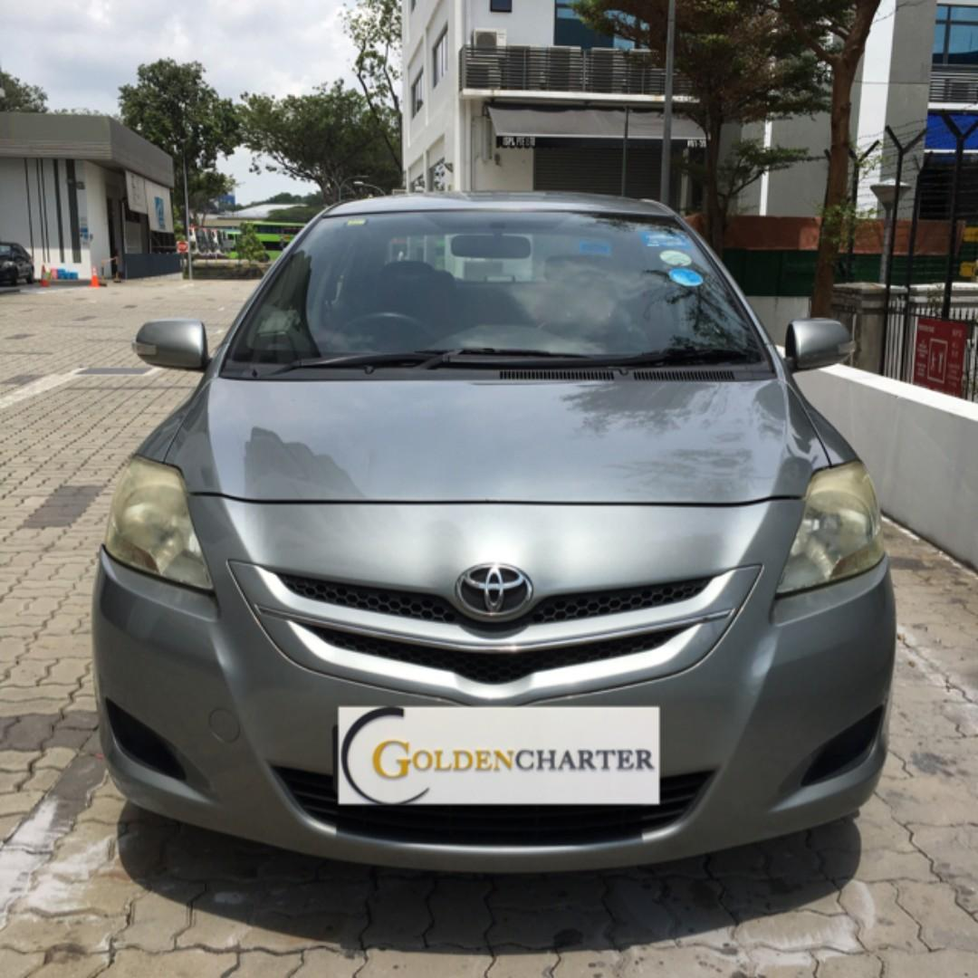 Toyota Vios For Gojek , Grab , Tada , Personal use ! Rent with us now !
