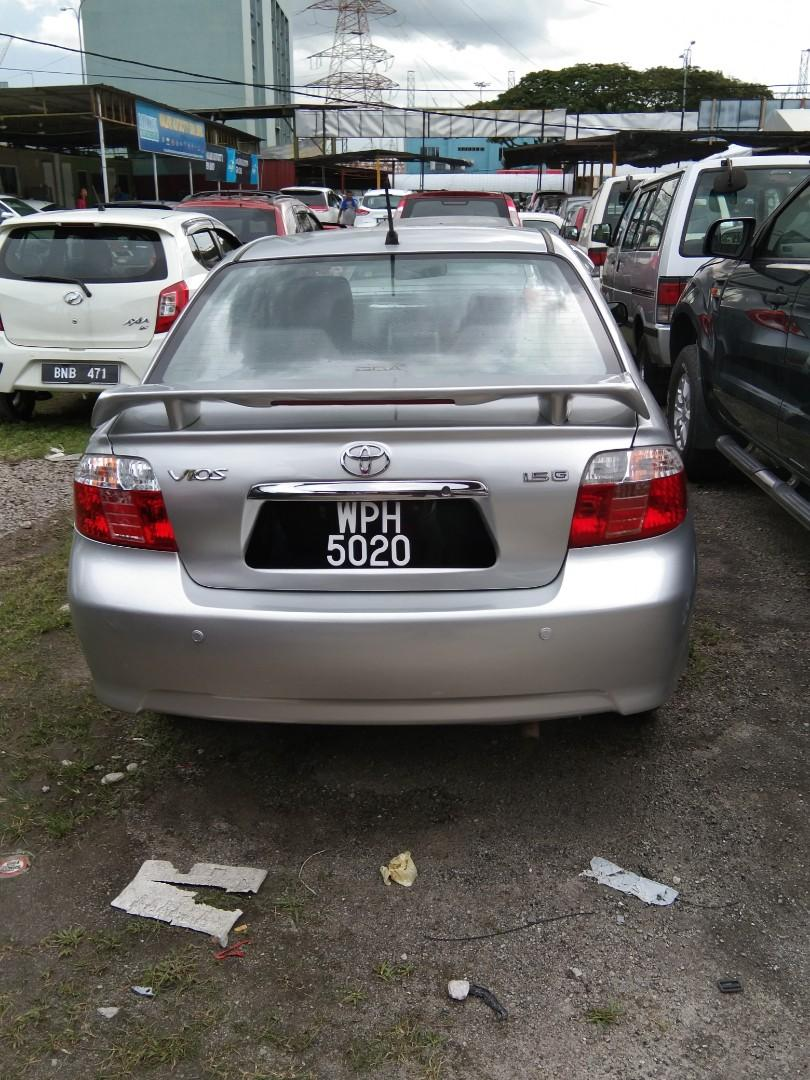 Toyota vios G spec 2007 blacklist? Uncompleted document can loan kedai