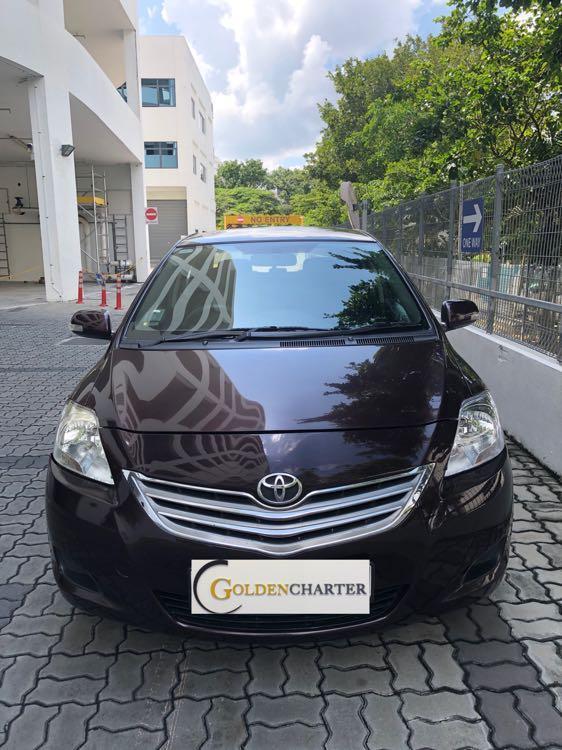 Toyota Vios Rental avail now! Gojek rebate! Personal use!