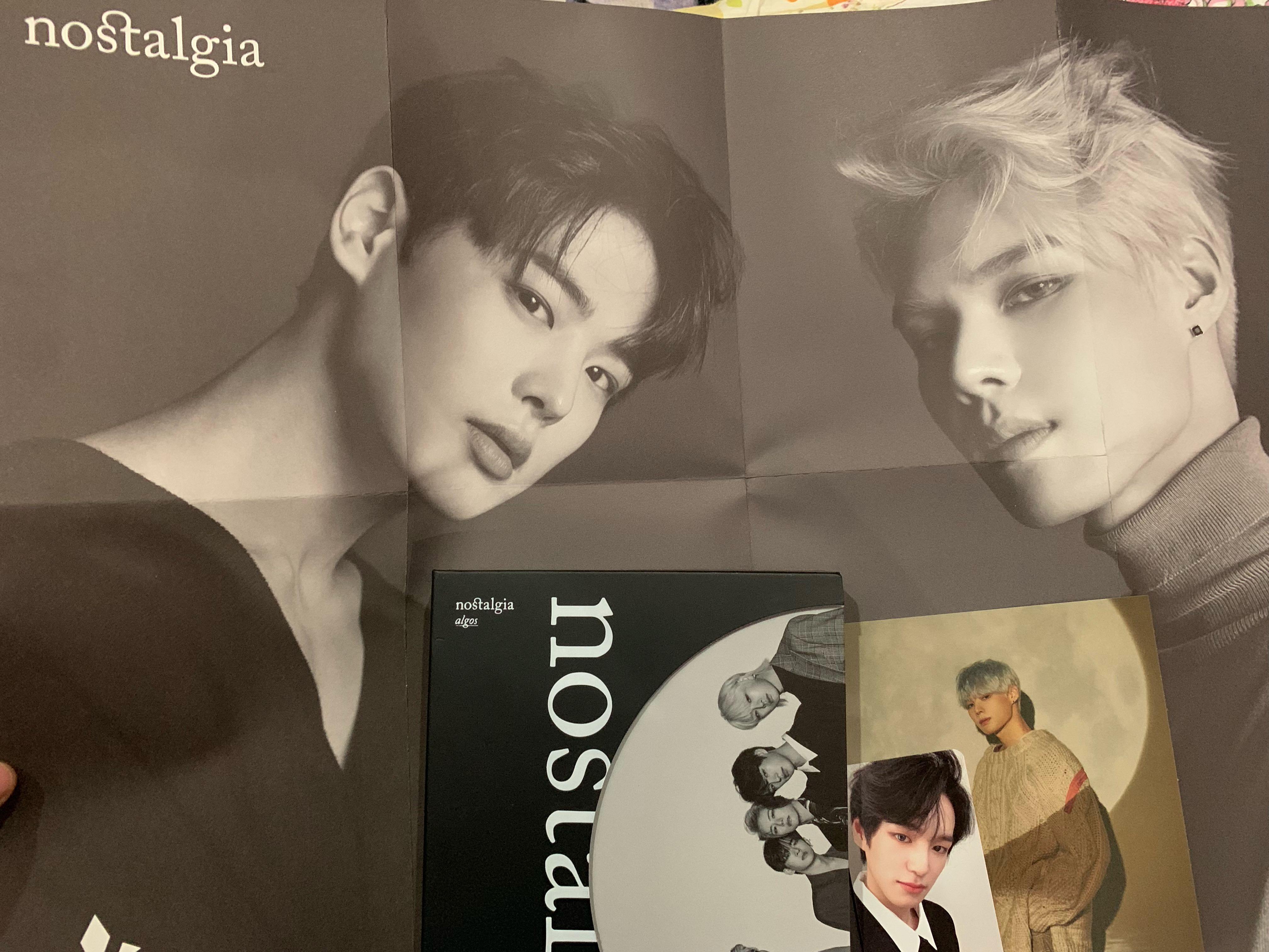 Victon Nostalgia Algos ver Byungchan Sejun Poster Sejun Postcard Chan PC