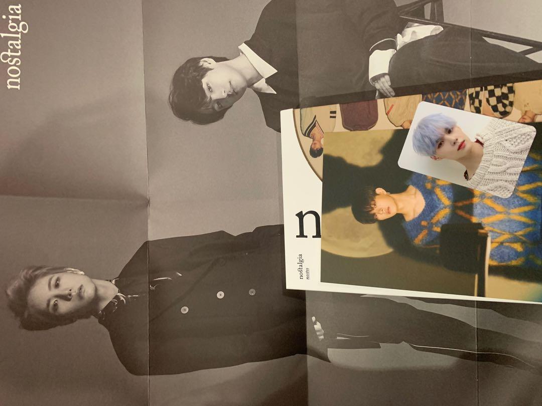 Victon Nostos ver Seungsik Chan Poster Subin Postcard Sejun PC