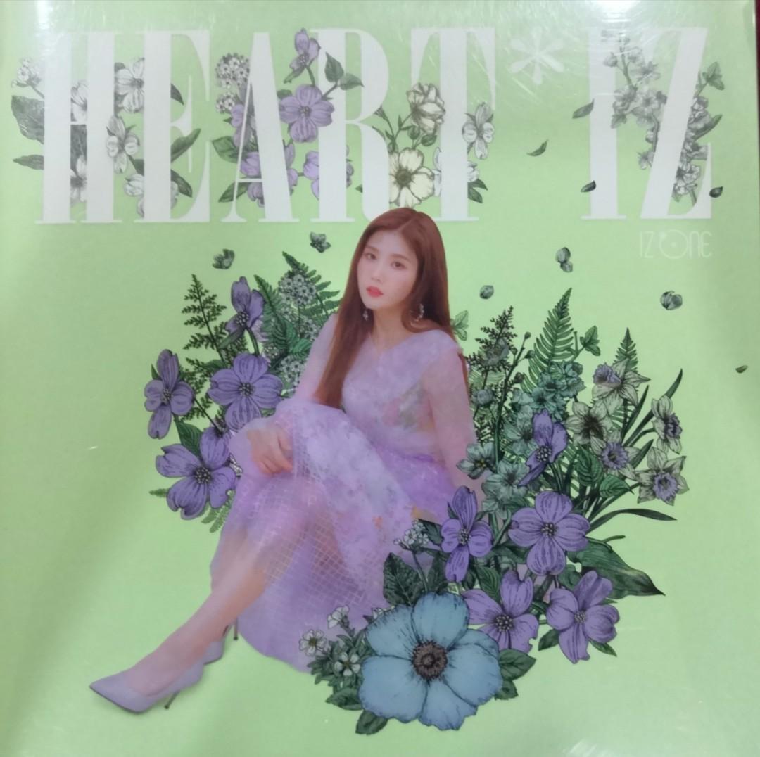 [WTS] IZ*ONE 'HEART*IZ' Eunbi Violeta Version Cover Sleeve Album