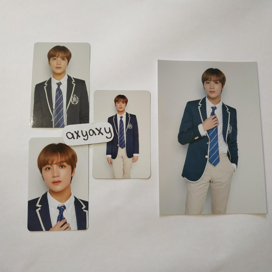 [WTS] NCT 127 Haechan Back to School Kit: Official POB