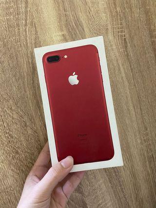售 iphone 7 plus 128g 紅