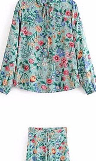 Top &skirt Zara Inspired