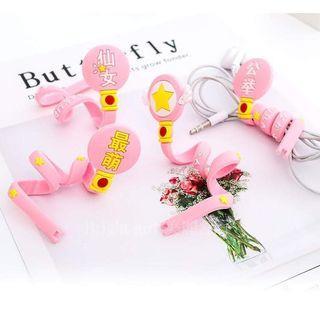 可愛長條粉色少女集線器