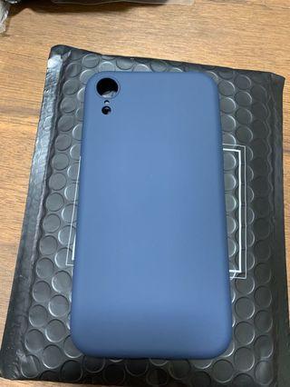 iPhone XR 液態掛膠 手機殼 (深海藍)無logo