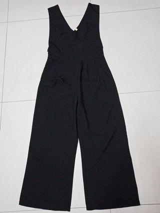 吊帶褲(寬褲)