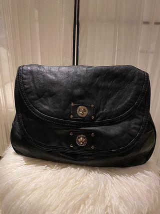 Marc by Marc Jacobs Black Leather Two Compartment Crossbody Bags