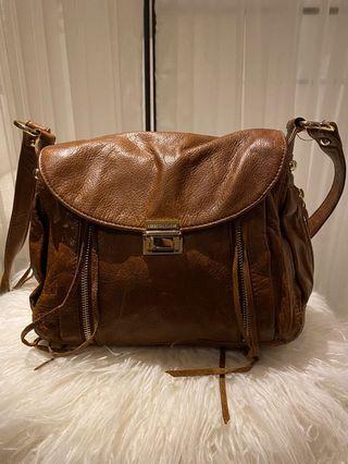 Rebecca Minkoff Brown Leather Crossbody Bag