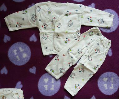 新生兒純棉紗布衣褲