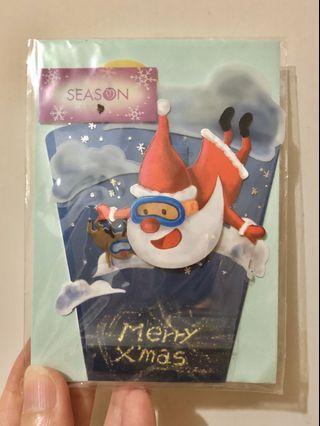 🎄台灣立體聖誕咭 - 高空聖誕老人