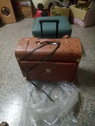 全新DeMon復古手提可推造型行李箱