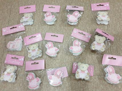 Cute clips for Baby shower Baptismal Christening invitations