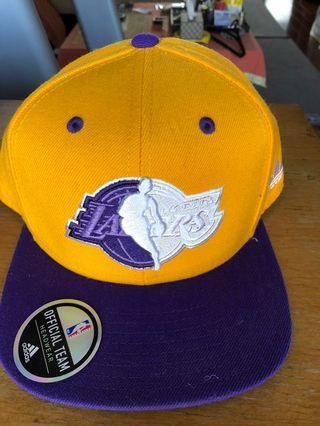 NBA湖人隊帽子,全新正品