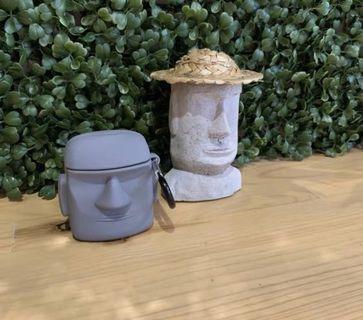 經典復活島巨石 air pods 保護套