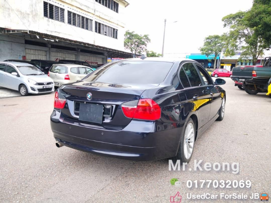 2006TH BMW 320I 2.0AT E90 Sell Cheap Cash OfferPrice💲Rm23,800 Only‼ LowestPrice InJB‼ Interested Call📲KeongForMore🤗